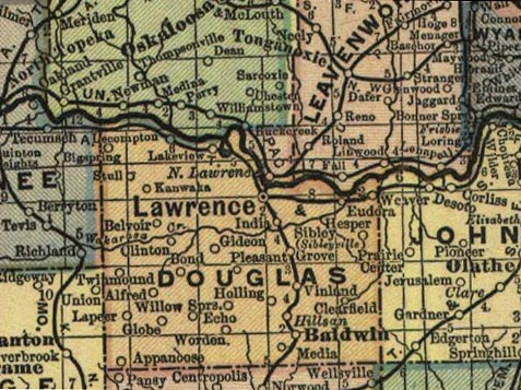 Lawrence Map